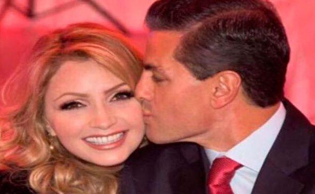 Peña Nieto celebra cumpleaños de Angélica Rivera con tierno mensaje