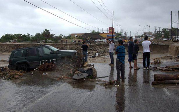 Paso de tormenta Lidia deja siete muertos y 720 damnificados en península de BC