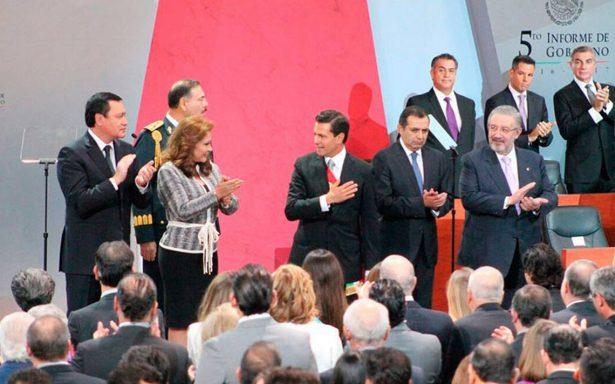 Urge Peña Nieto al Congreso aprobar la Ley de Seguridad Interior