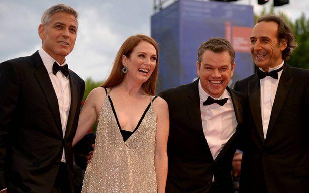 El encanto de George Clooney arrasa en Venecia