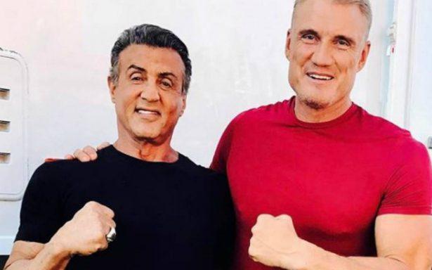 Rocky y Drago se reúnen 32 años después para la última batalla