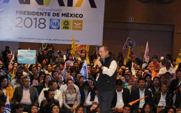 Anuncia Frente que buscará alianza con ONG para garantizar elecciones limpias