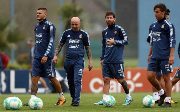 Messi, Dybala e Icardi buscarán clasificación argentina a Rusia 2018