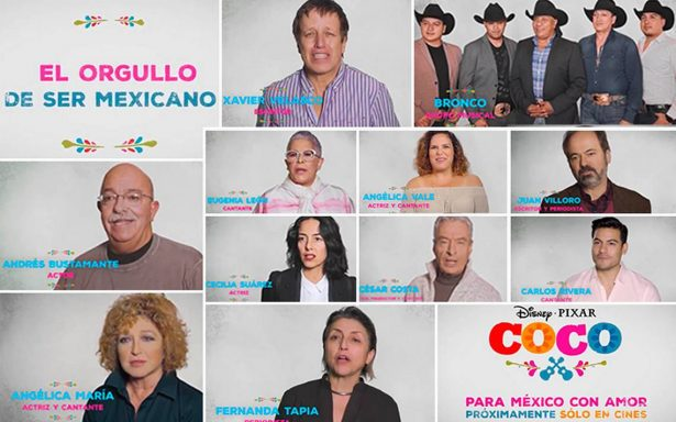 [Video] Disney Pixar muestra su apoyo y festeja 'El orgullo de ser mexicano'