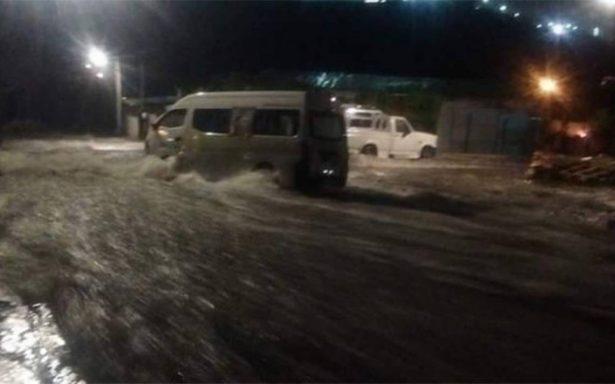 Por segunda vez, se desborda la presa El Ángulo en Cuautitlán