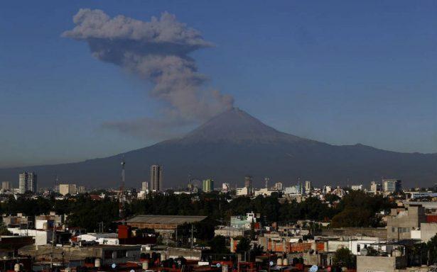 Popocatépetl suma 23 años de actividad eruptiva
