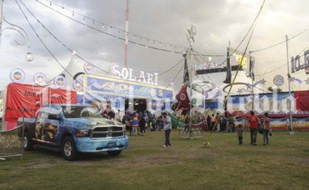 Localizan en circo de Puebla a niña desaparecida en Guanajuato