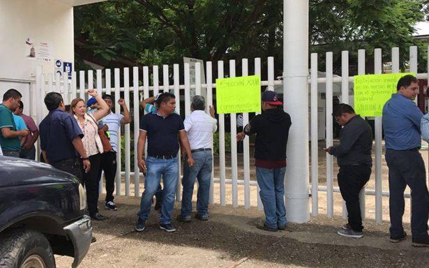 Movilizaciones de maestros de la CNTE