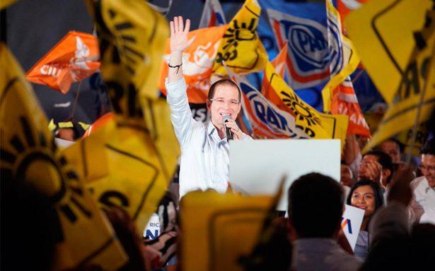 """Anaya llama """"cínicos"""" a los priistas por culparlos de violencia"""