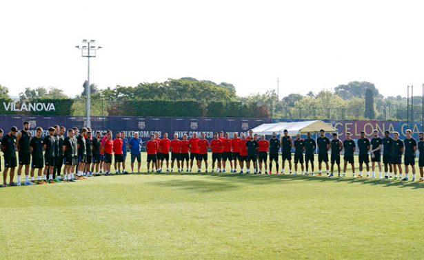 Futbol español rinde homenaje a víctimas del atentado