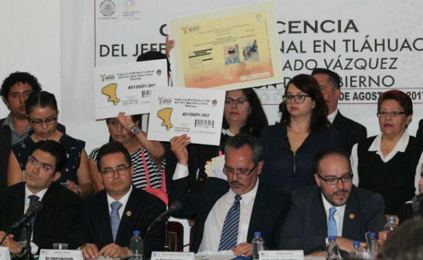 """Delegado de Tláhuac niega tener cualquier vínculo con """"El Ojos"""""""