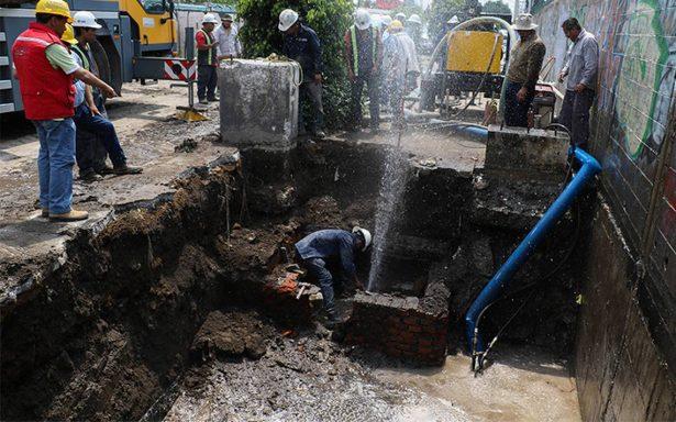 Urgen presupuesto para reparar la red hidráulica en la CdMx