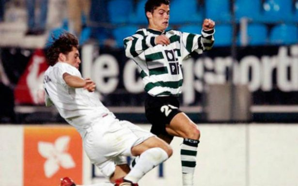 """A 15 años del primer gol de """"CR7"""" como profesional"""