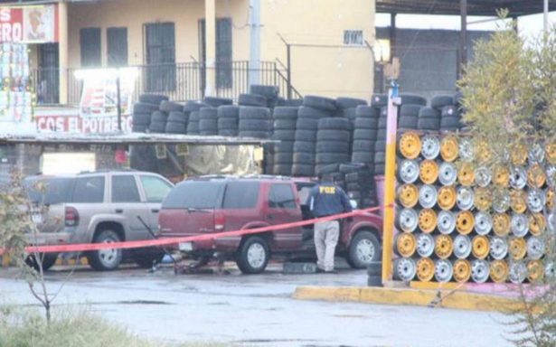 Acribillan a seis en vulcanizadora de Ciudad Juárez