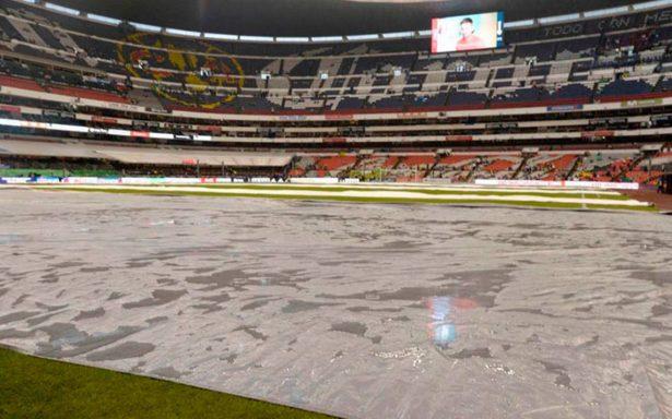 Ni Tláloc detiene el partido México-Panamá en el Azteca
