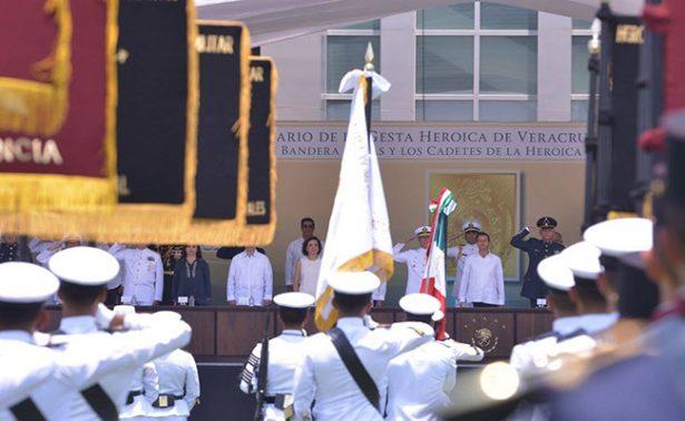 Seguirá la batalla contra la impunidad, afirma Peña Nieto en Veracruz