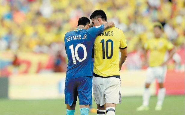 Colombia y Brasil reparten puntos