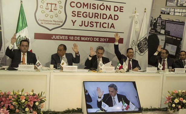 Periodistas y  huachicoleros, prioridad de la Conferencia Nacional de Gobernadores