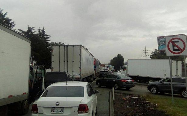 Tras accidente, reabren la autopista México-Querétaro