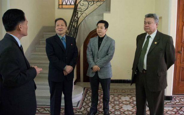 Embajador de Corea del Norte deja México después del lanzamiento de misil