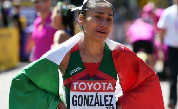 Lupita González gana plata en Mundial de Atletismo