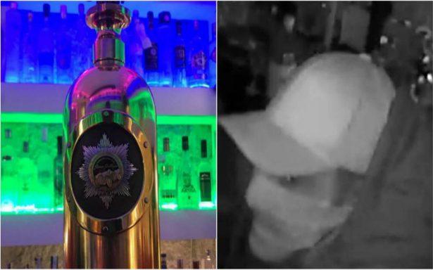 ¡Santa borrachera! Roban la botella de vodka más cara del mundo
