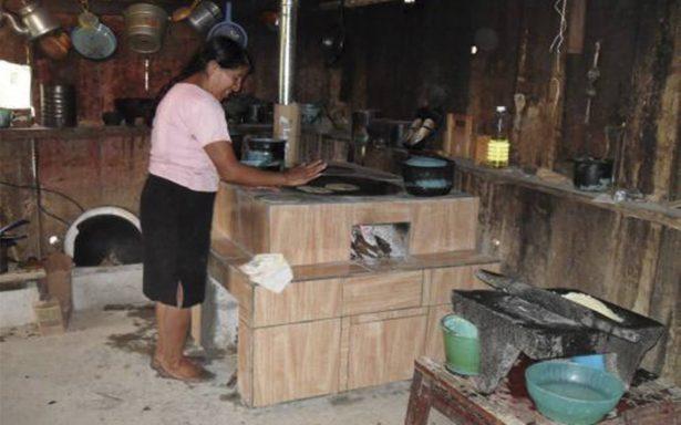 Guisan con leña cerca de cinco millones de hogares mexicanos