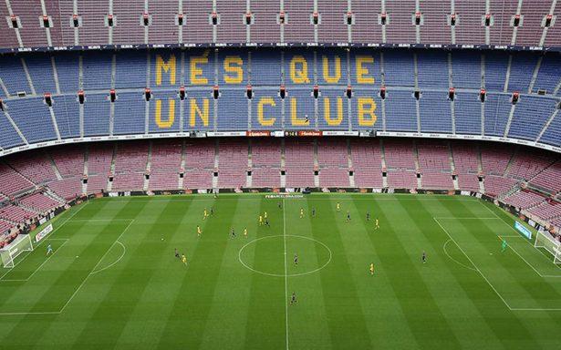 Bajo el silencio del Camp Nou, Barcelona golea a Las Palmas