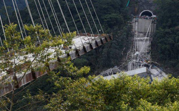 Diez obreros mueren en Colombia al caer puente en construcción