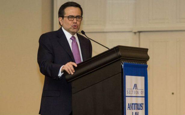 TLCAN no es la única opción para cumplir con el compromiso comercial de México: Guajardo