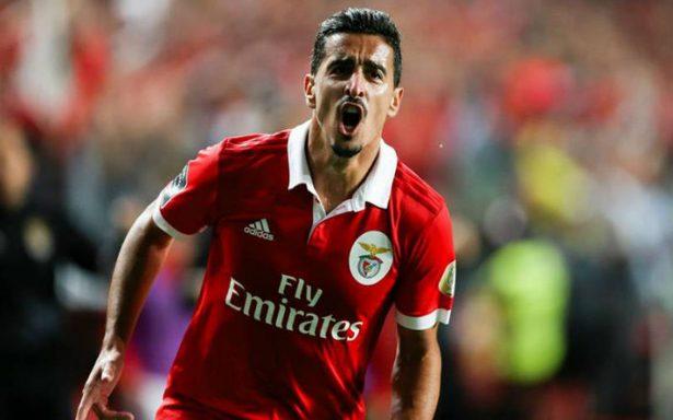 Checa el golazo de otro planeta de Andre Almeida del Benfica