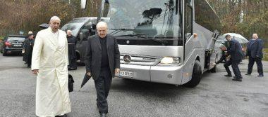 Papa suspende sus actividades públicas por retiro de Cuaresma