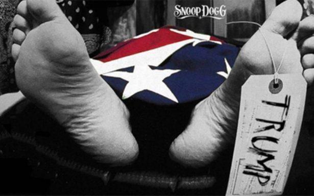 Snoop Dogg 'asesina' a Trump y muestra su 'cadáver' en portada de disco