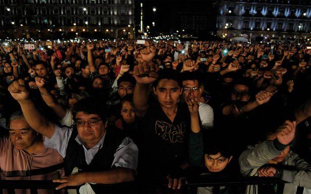 Músicos y cantantes se solidarizan con México