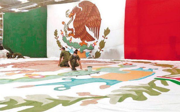 Bandera, orgullo nacional y militar