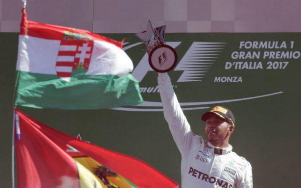 Hamilton gana el GP de Italia y es nuevo líder del Mundial