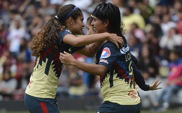 América le gana  Pumas en la LIGA MX Femenil