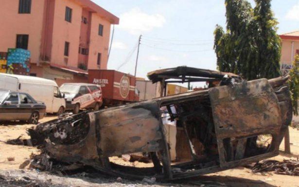 Niña se inmola y mata a otros seis menores en Camerún
