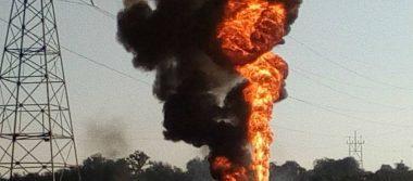Provoca incendio toma clandestina en ducto de Pemex en Edomex