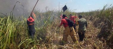 Cazadores furtivos provocan incendio cerca de Laguna Pomposú; arrasan con 350 hectáreas