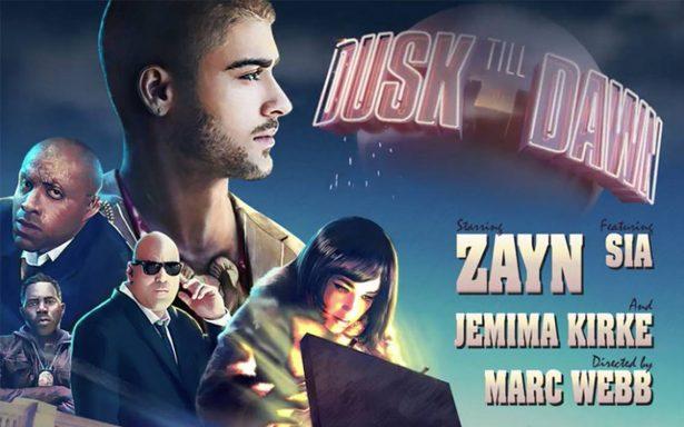 """Zayn Malik y Sia estrenan """"Dusk till dawn"""" con un cortometraje"""
