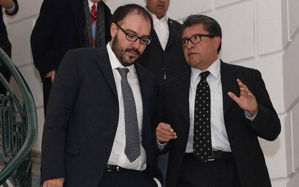 Toledo le abre las puertas a Monreal: es bienvenido al PRD como candidato a jefe de Gobierno de la CDMX