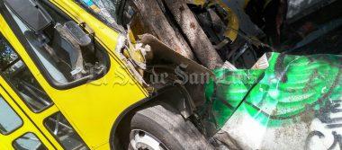 Camionero se desmaya al volante
