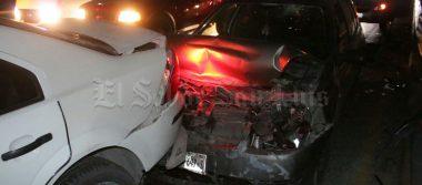 Carambola en carretera México, tres personas lesionadas