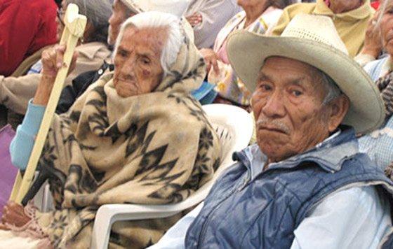 Adultos mayores acuden solos al IMSS