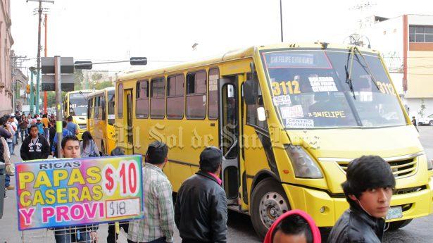 Piden ampliar ruta 25 de transporte público