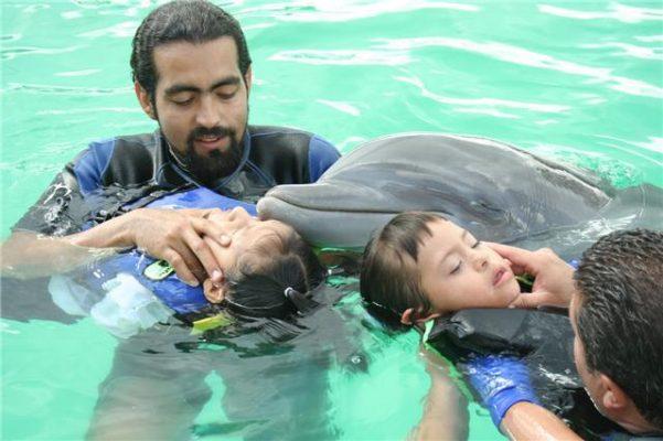 Reactivó el DIF municipal  las terapias con delfines