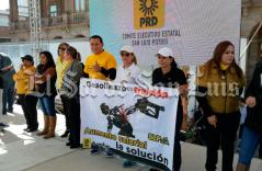 PRD se suma a indignación ciudadana por gasolinazo