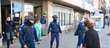 Ante sismo, desaloja protección civil edificios en SLP