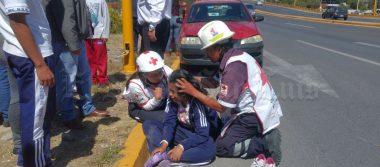 Atropellan a estudiante en carretera Matehuala (VIDEO)